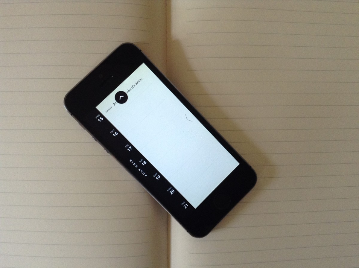 Moleskine's Timepage for iOS is the perfect minimalist calendar app