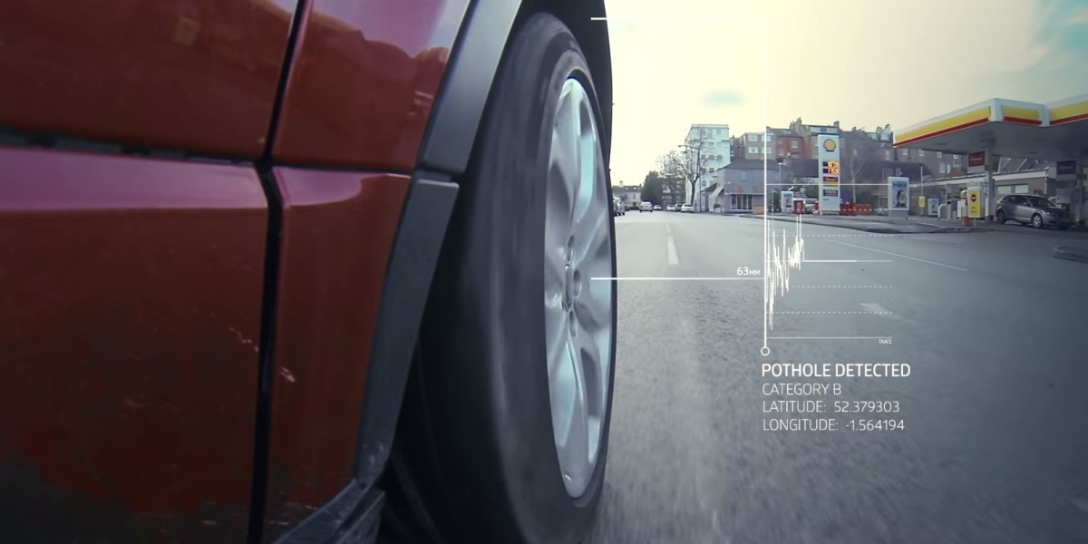 JLR pothole alert