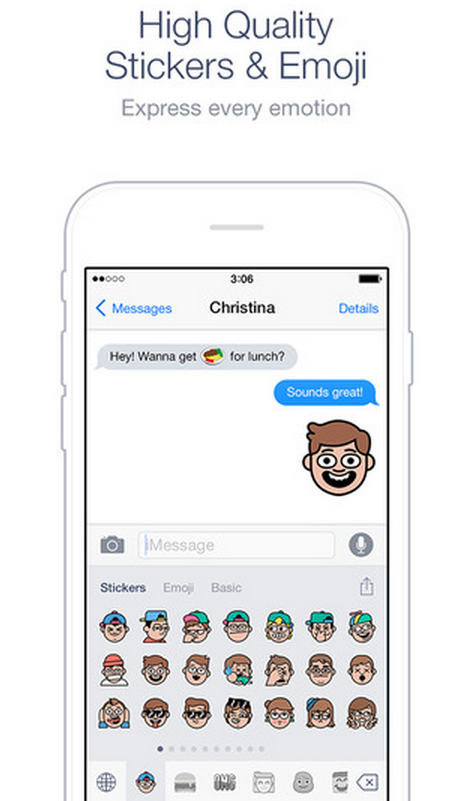 Line just launched an emoji and sticker keyboard for iOS