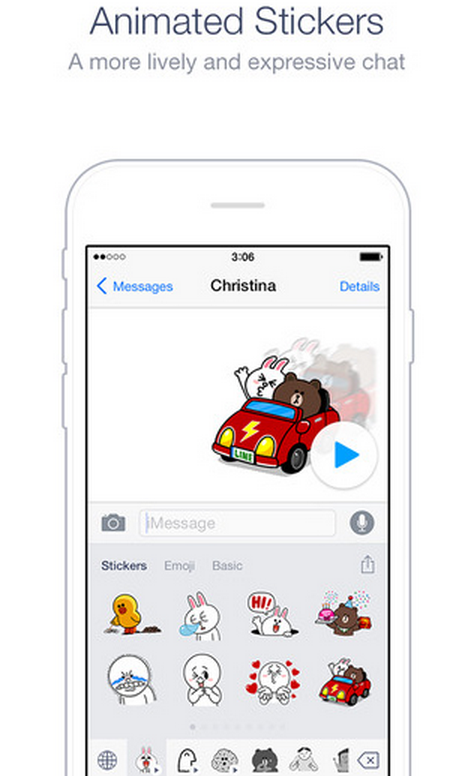 line just launched an emoji and sticker keyboard for ios. Black Bedroom Furniture Sets. Home Design Ideas
