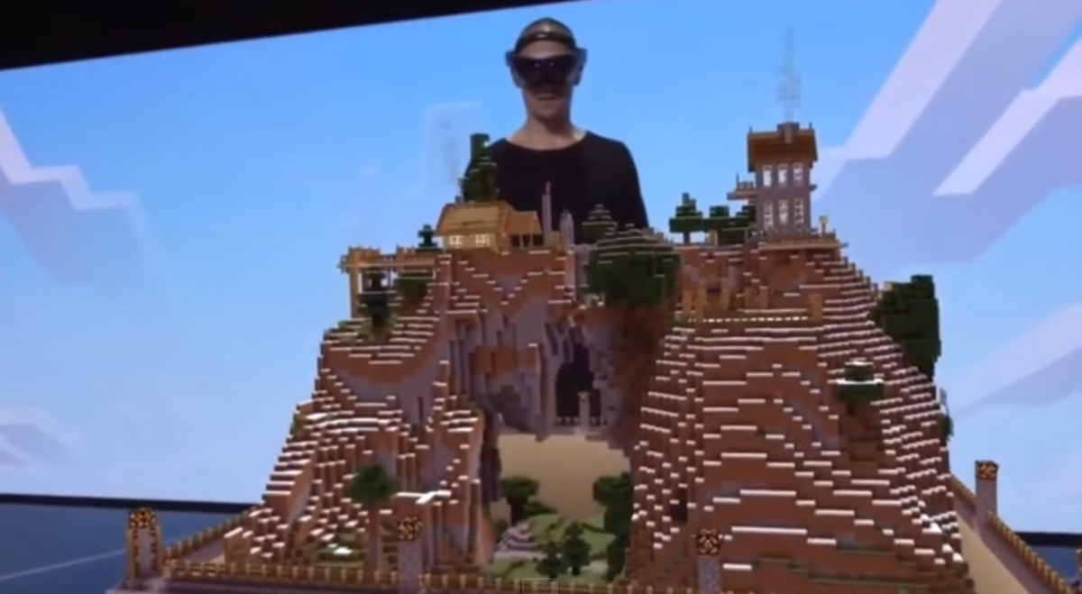 Microsoft adds Valve to Oculus as a VR partner, shows off Minecraft on HoloLens