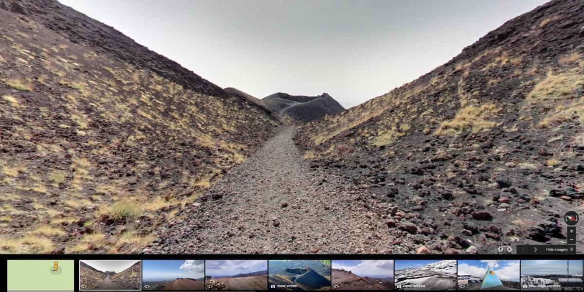 Mount Etna Google