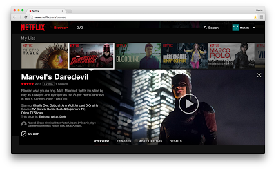 Netflix officially launches its redesigned website