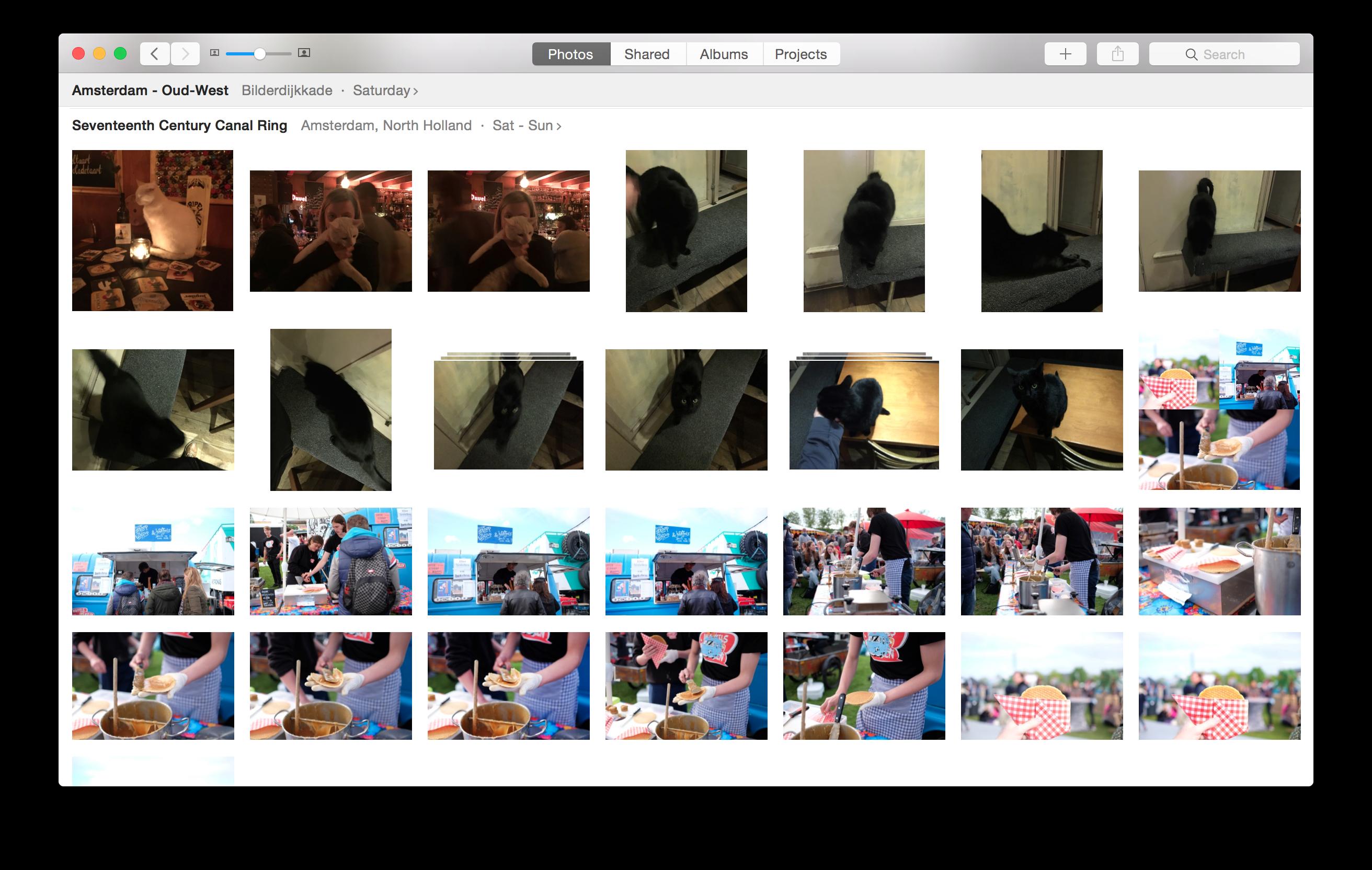 Screenshot Cloud photo storage iCloud