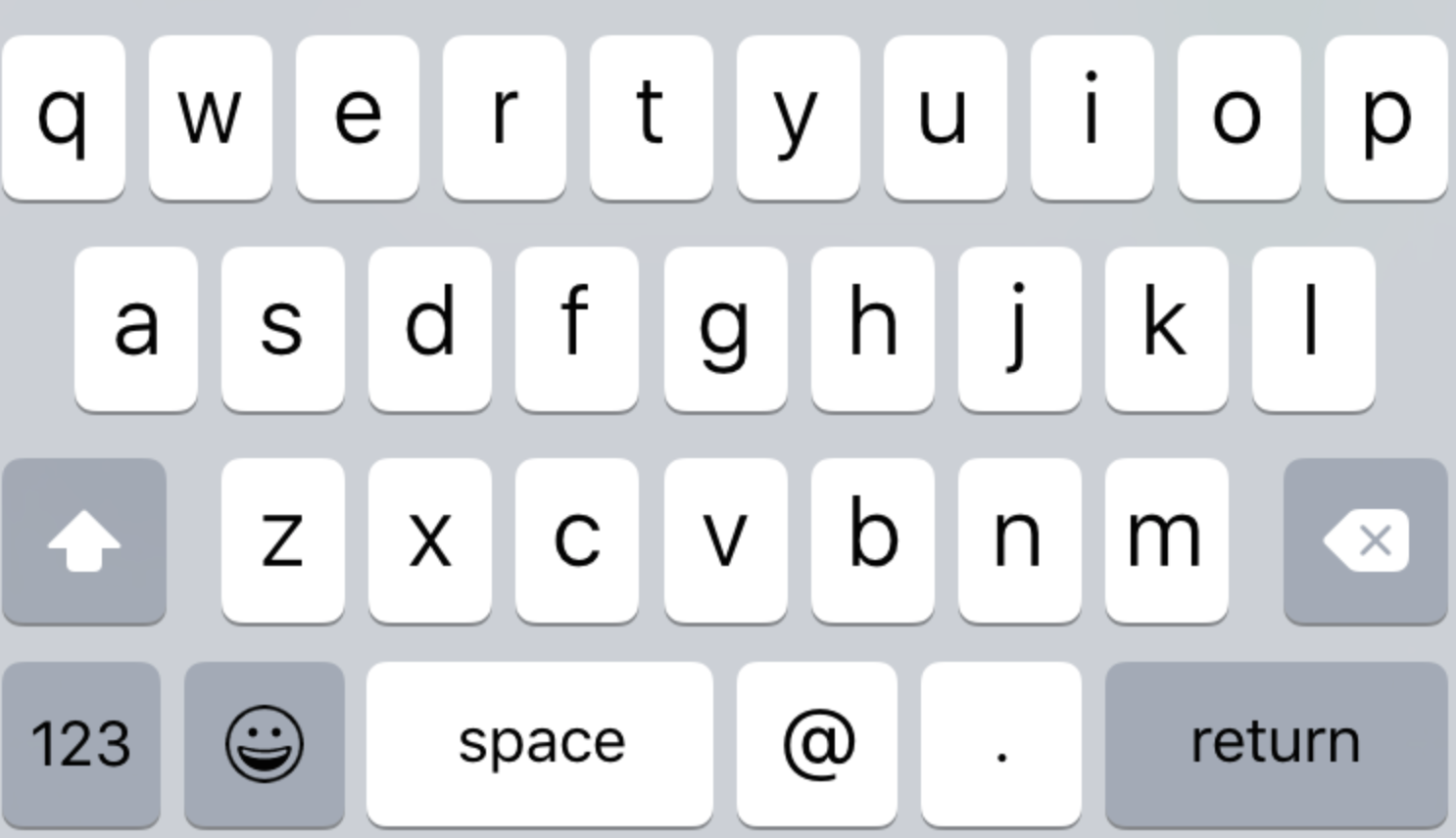 Change Iphone Keypad To Capital Letters