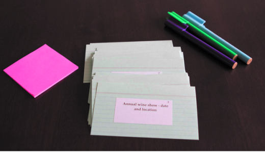 Card sorting for UX card design