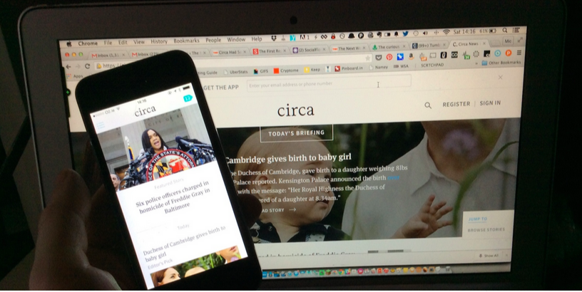 Circa news app and website are shutting down