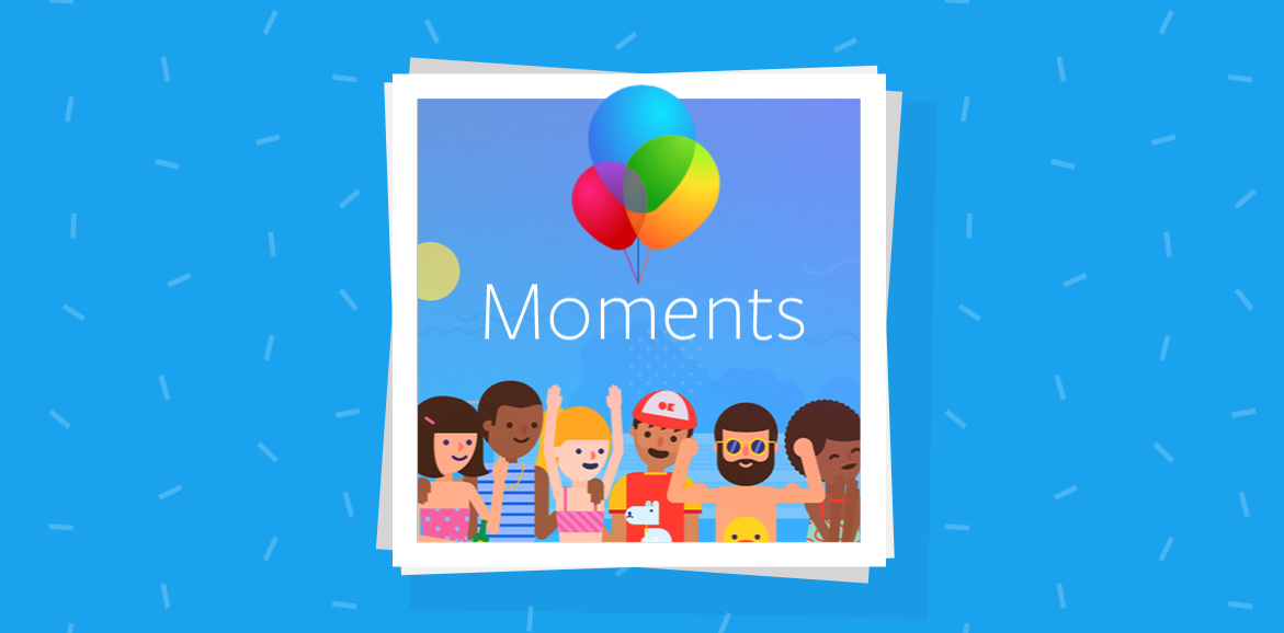 Cloud photo storage Facebook moments