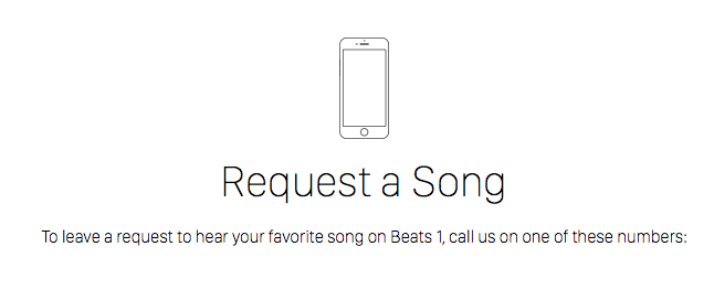 Beats 1 radio is now taking your song requests