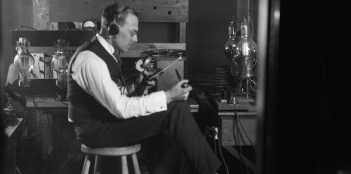 Listen: this story about America's first radio station shows early adopters never change