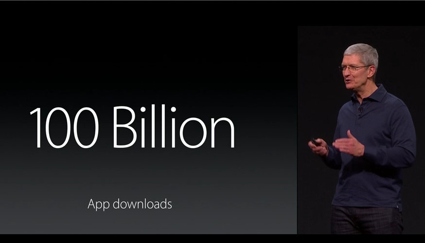 Apple's App Store passes 100 billion downloads, more than $30 billion paid to devs