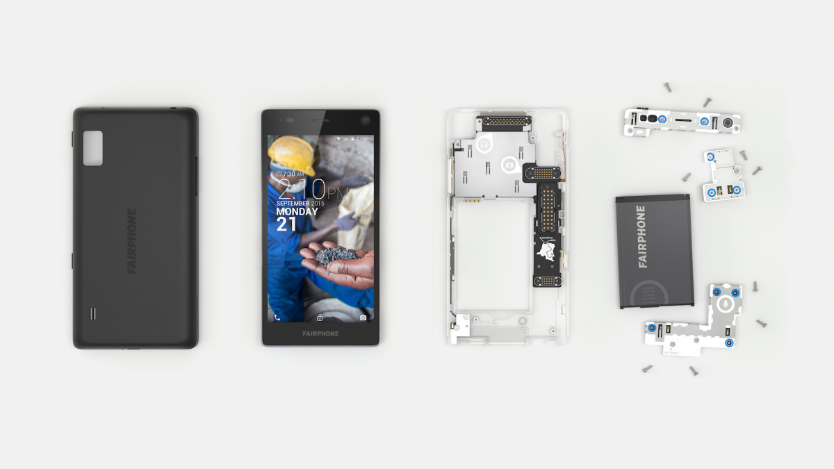 Fairphone 2, the first modular smartphone, is now available for pre-order