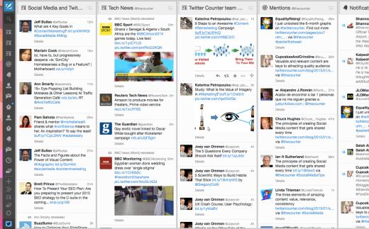 TweetDeck-Dashboard