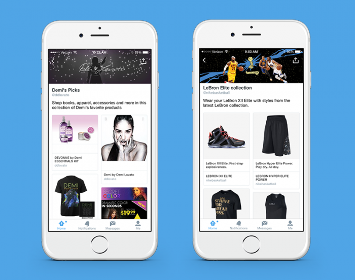 Twitter tests pages and Pinterest-like collections for products and businesses