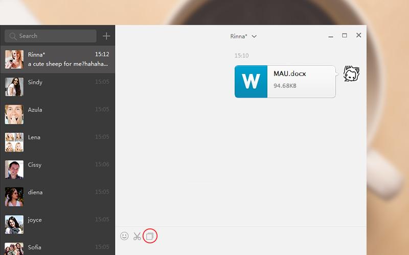 WeChat-Windows-File-Sharing