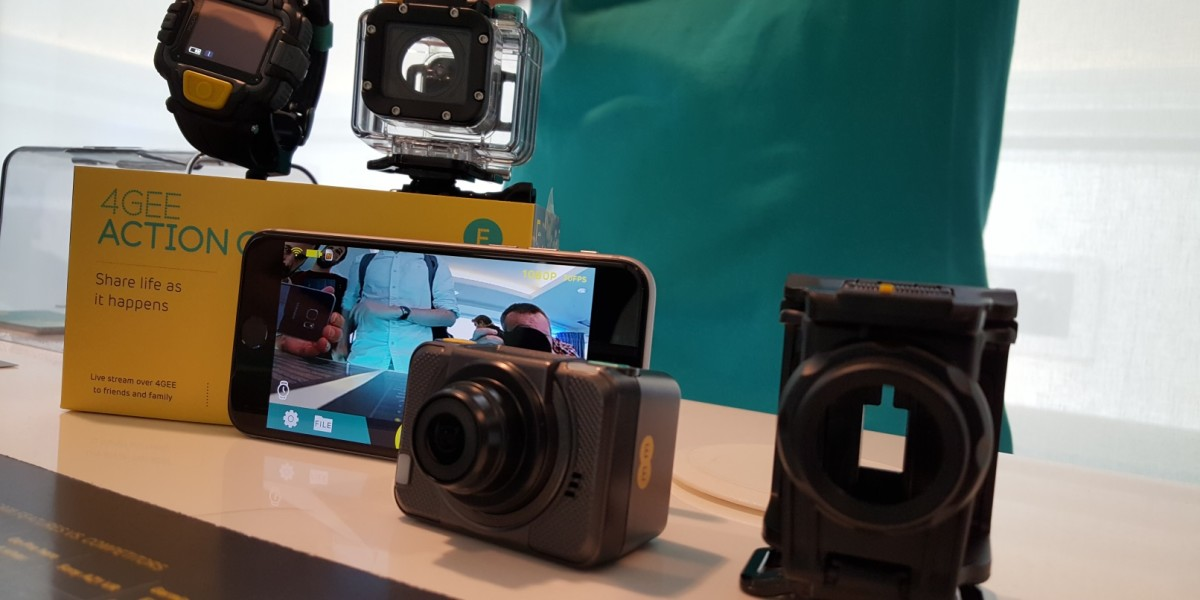 EE launches GoPro-like 4G action camera in new connected devices push