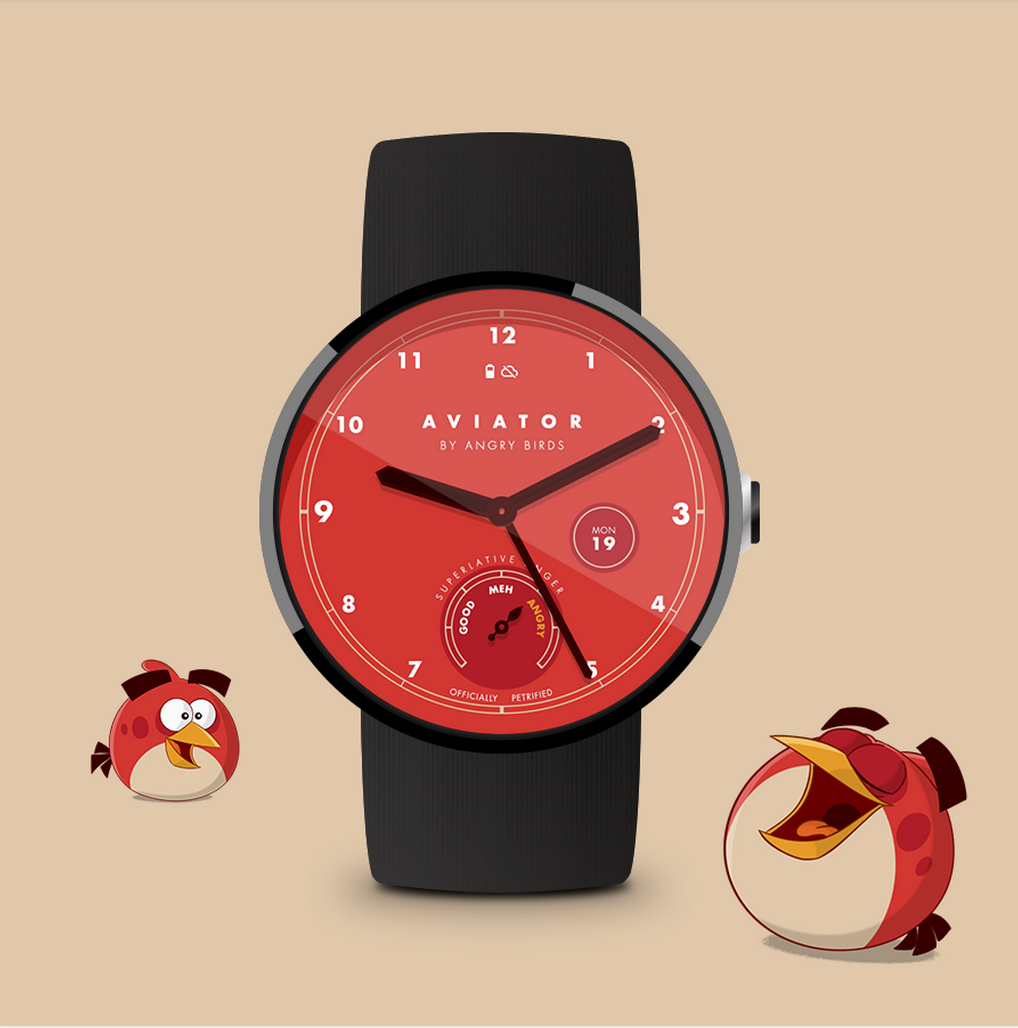 angry birds android wear