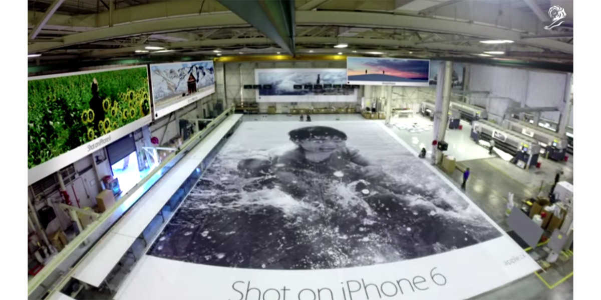 Apple wins Cannes Lions top prize for its 'Shot on iPhone 6' ad campaign