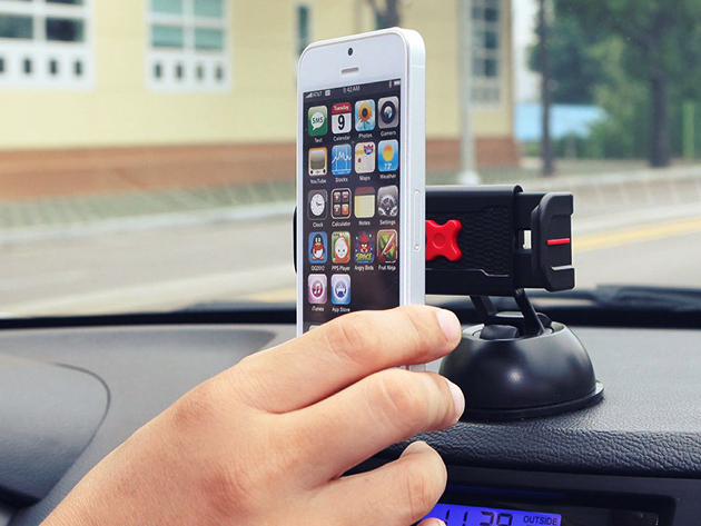 Give your phone the best seat in your car, with the ExoMount Touch at TNW Deals