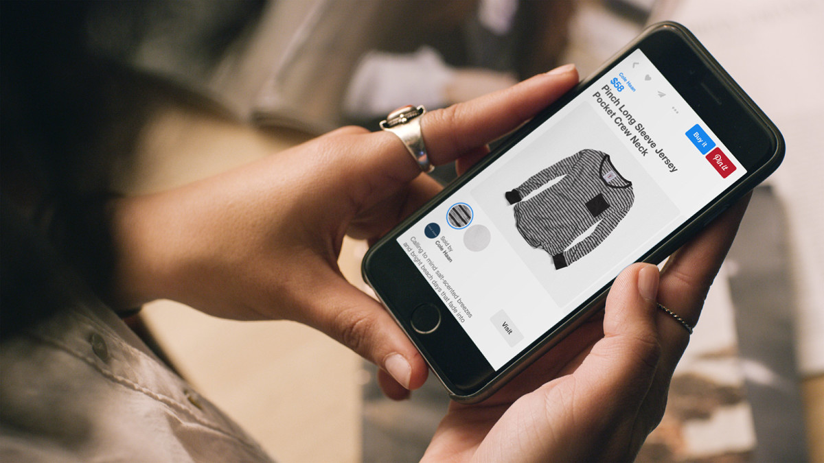Pinterest debuts buyable pins for mobile shopping