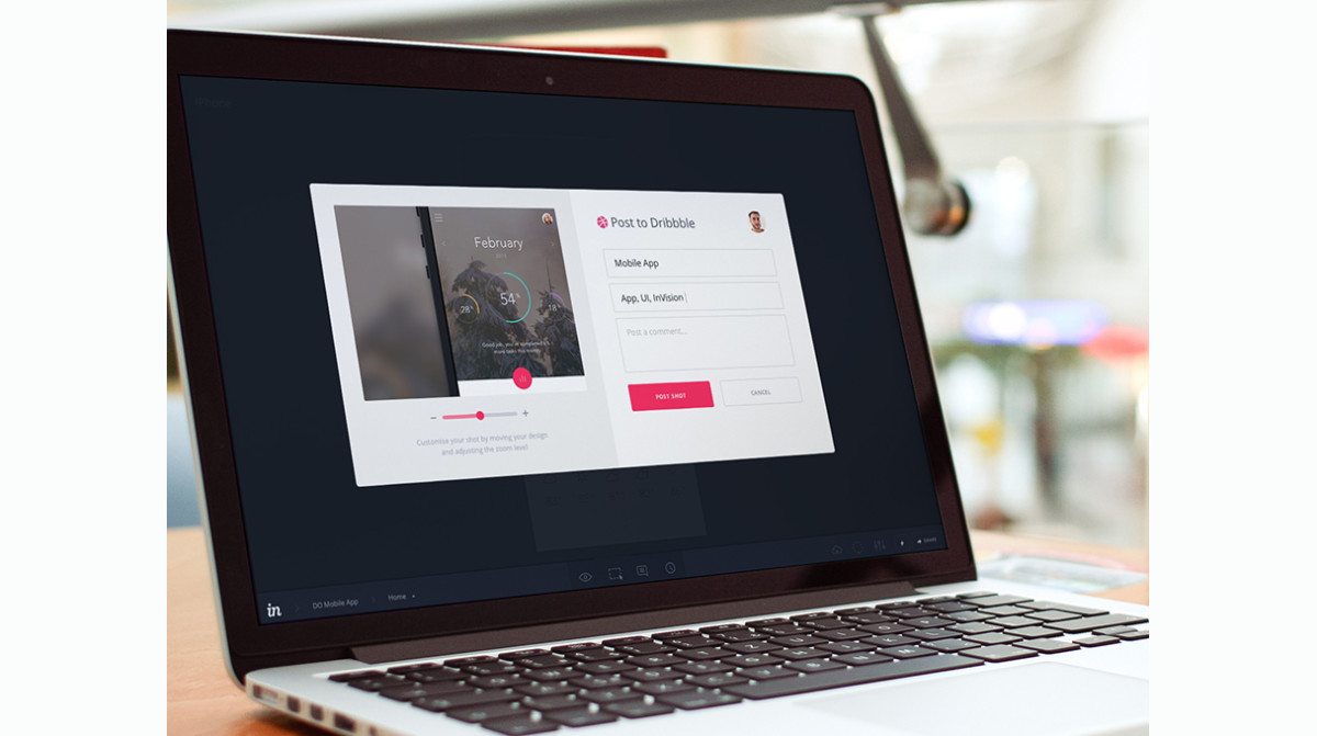 InVision and Dribbble team up for design-inspired collaboration and feedback
