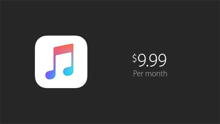 Apple unveils Apple Music, its Spotify competitor