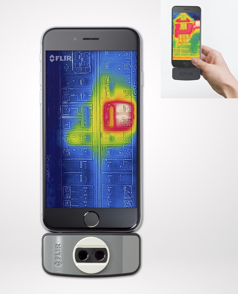 Flir releases updated thermal imaging camera for iOS; Android on the way