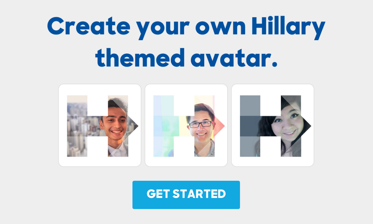 Someone made a Hillary Clinton avatar generator and it's already been abused to bits