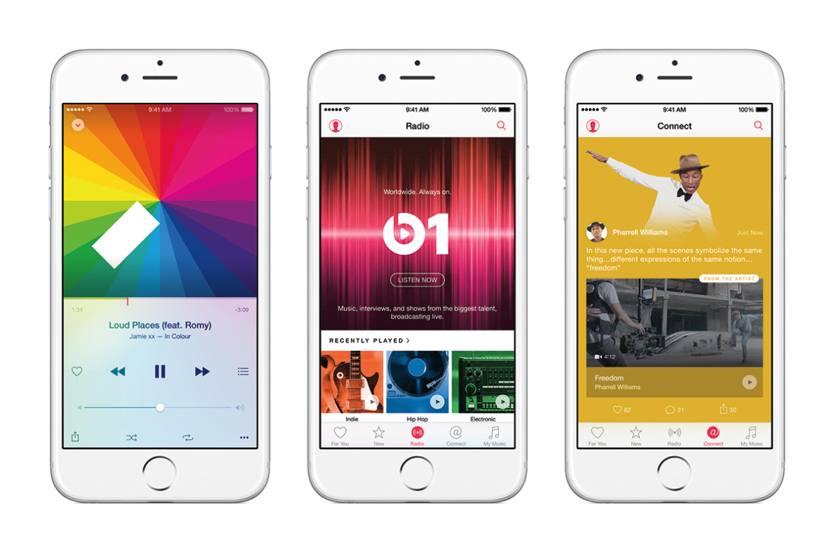 Everything you need to know about the Apple Music launch