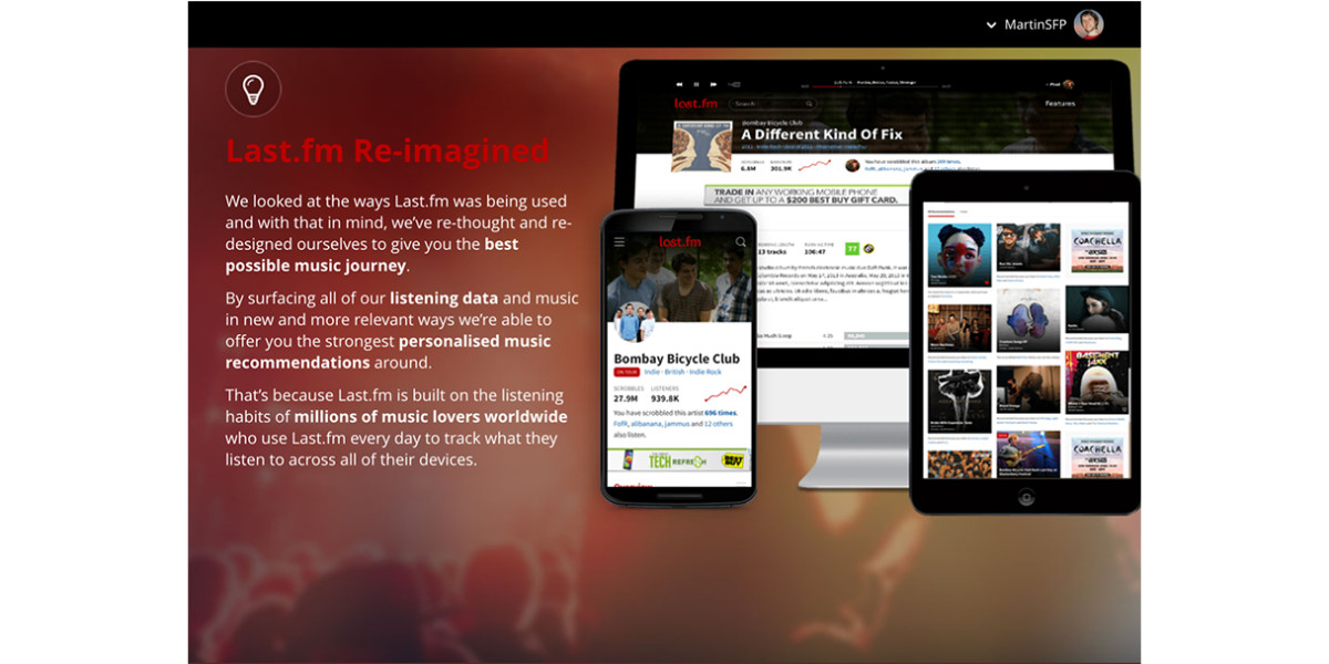Last.fm tries for a new groove with a complete site overhaul