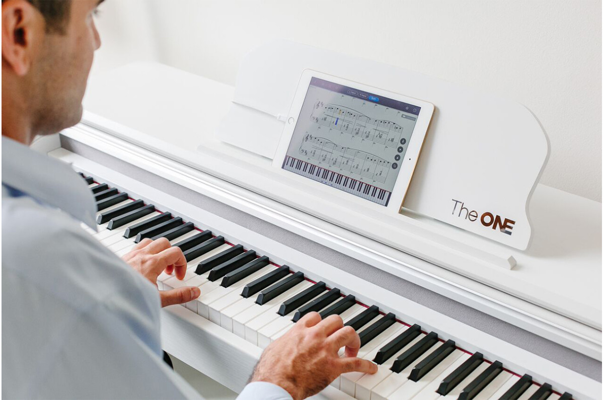 The one smart piano could make learning to play much more fun for How much space does a baby grand piano need
