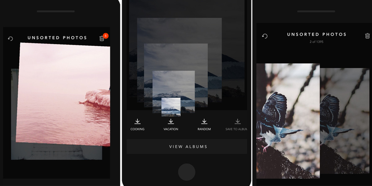 Slidebox lets you tap and swipe your way to iPhone photo management