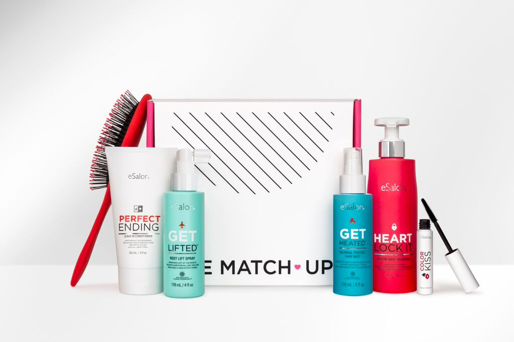 The Match-Up lets you customize a subscription hair care box without a trip to the salon