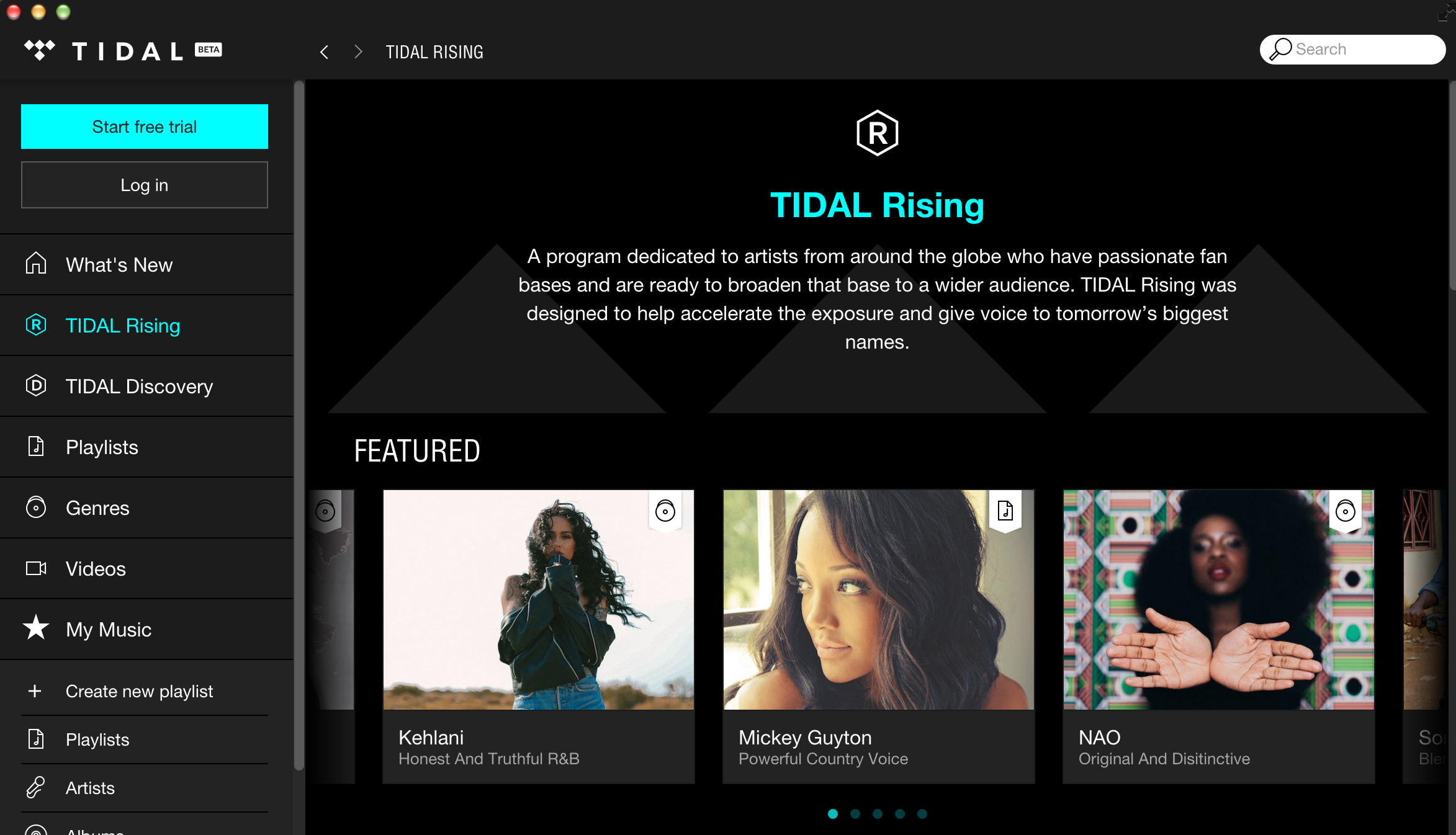 how to download tidal on windows
