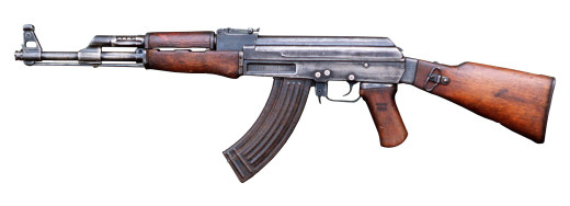 A Type 2 AK-47, the first machined receiver variation