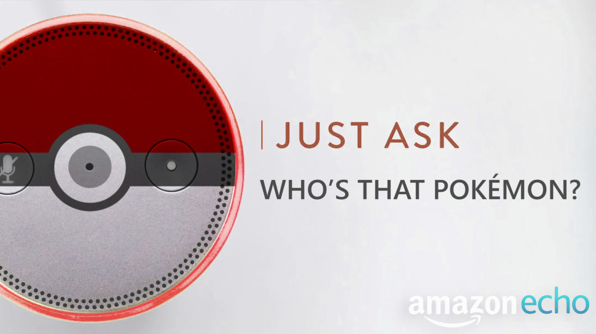 Who's that Pokemon? Amazon Echo works as a Pokedex