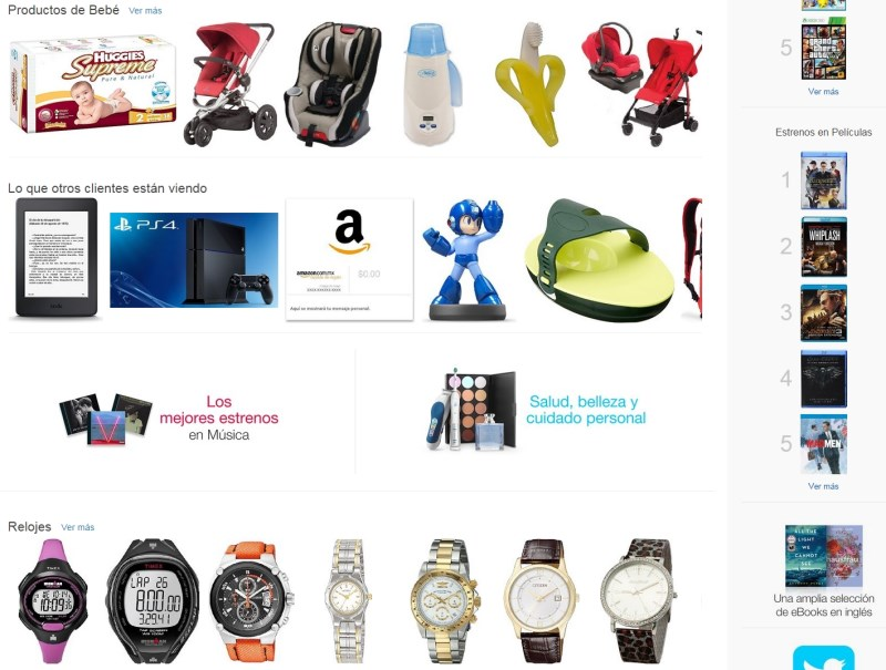 amazon finally begins selling physical products in mexico