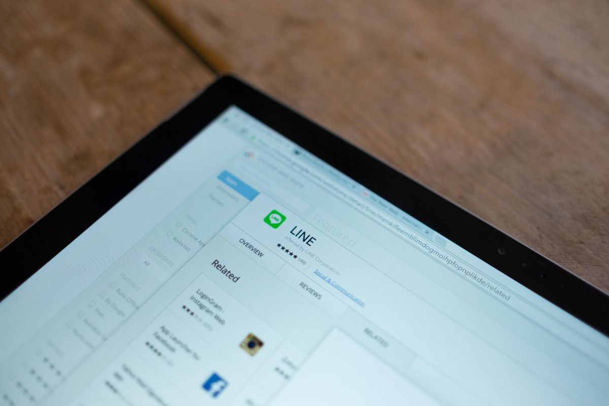 LINE just got a Chrome extension so you can chat right in your web browser