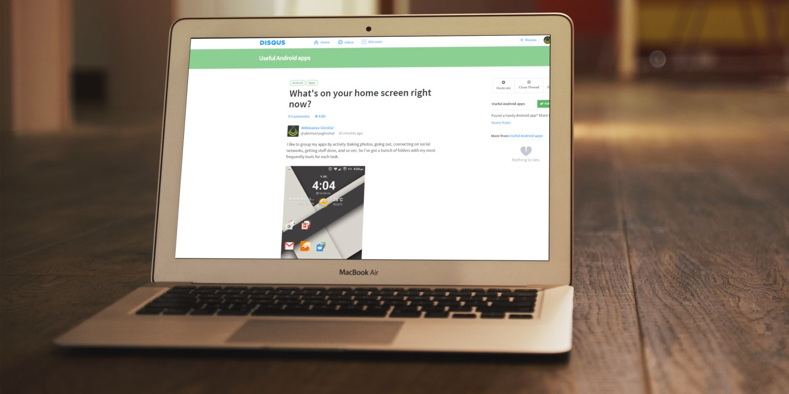 Disqus now lets you create your own discussion forums