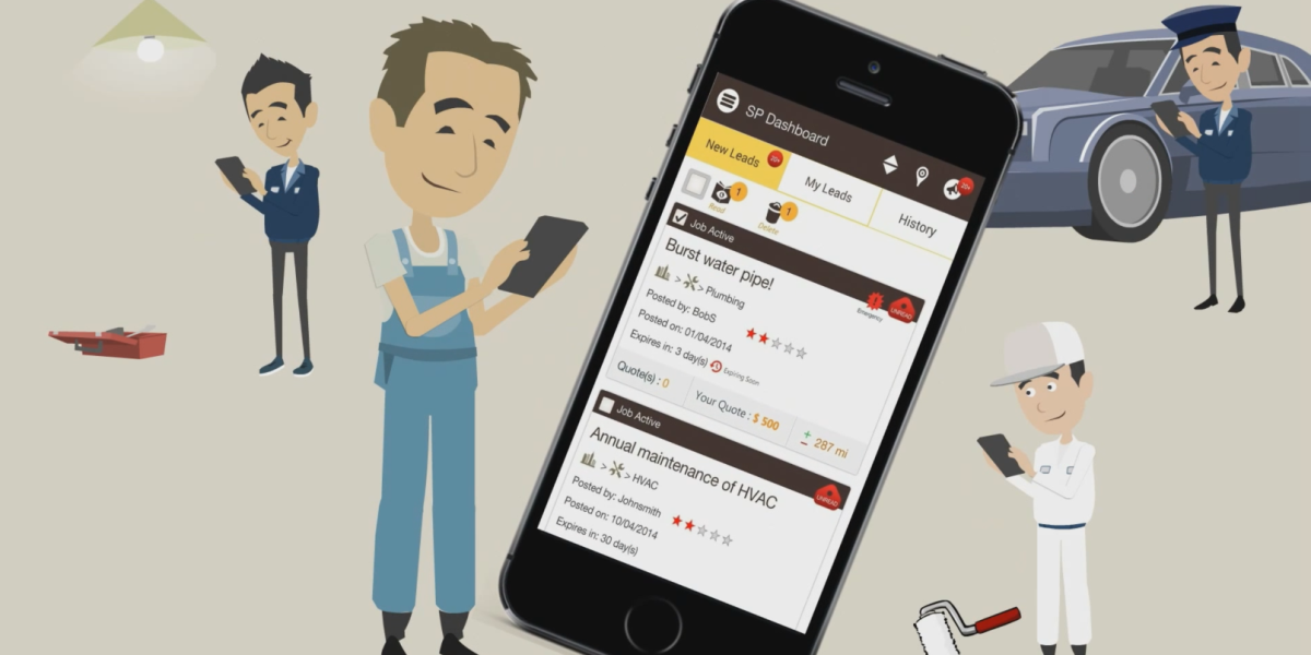 FixApp wants to provide a fair marketplace for all your household or business tasks