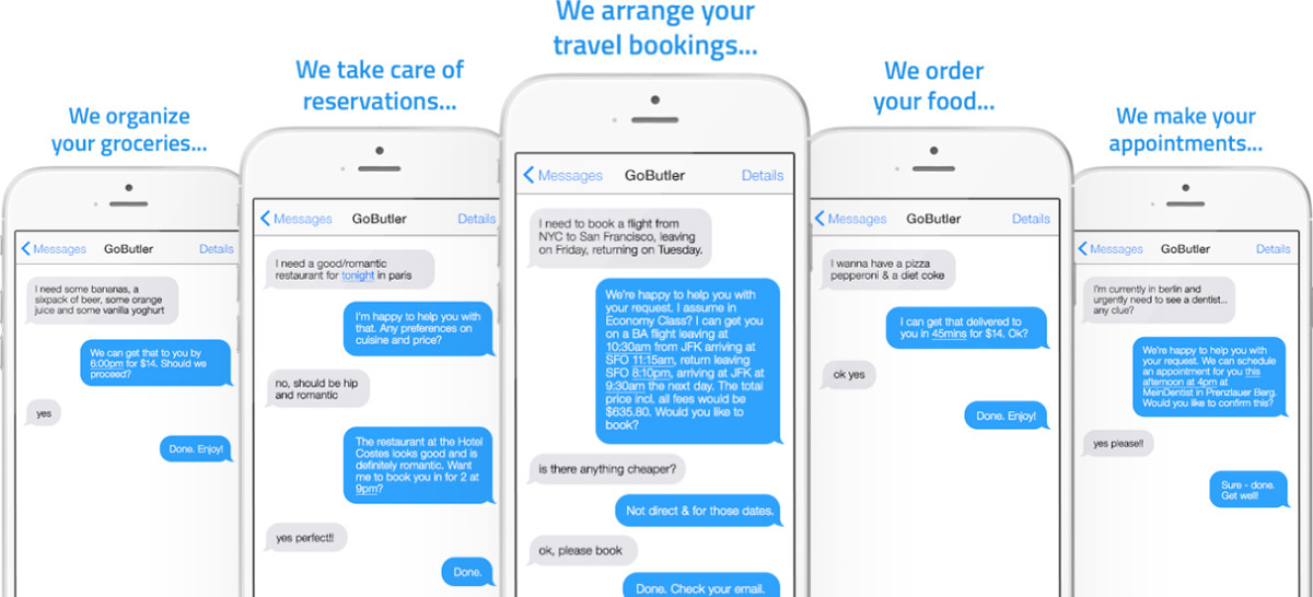 GoButler wants to be your new (and free!) digital on-demand concierge service