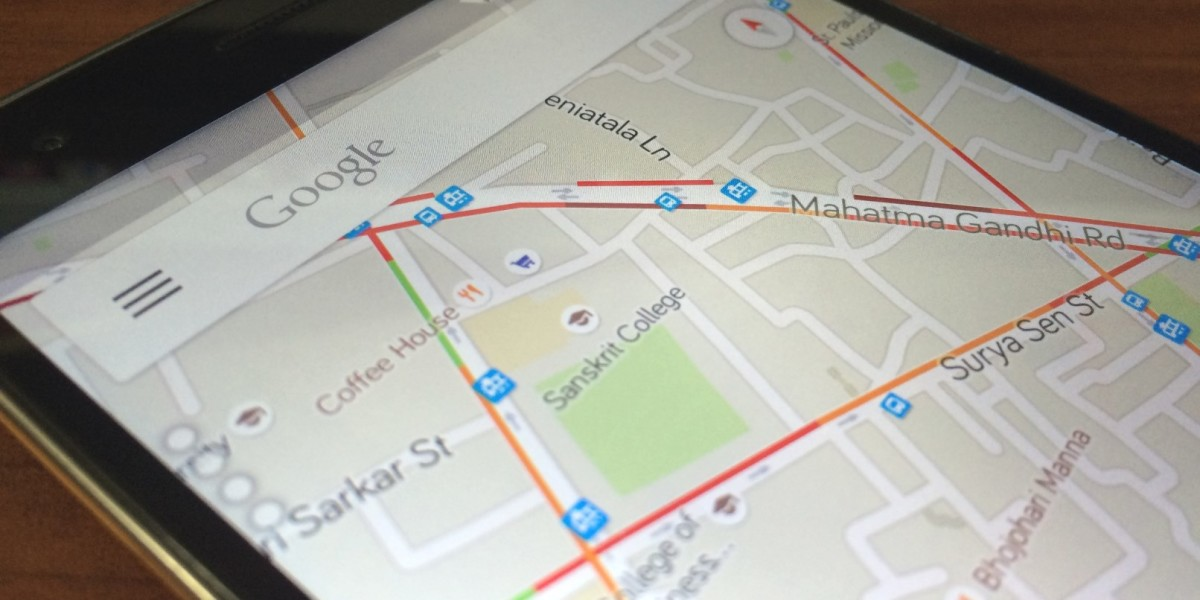 Google adds real-time traffic info for a dozen Indian cities on weather maps, information maps, street view maps, driving directions maps, google maps, dynamic maps,