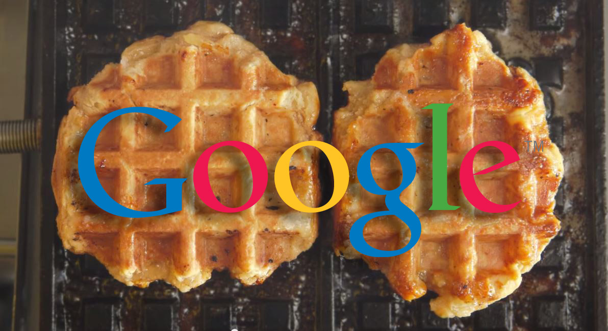 why is google trying to sell you waffles in nyc