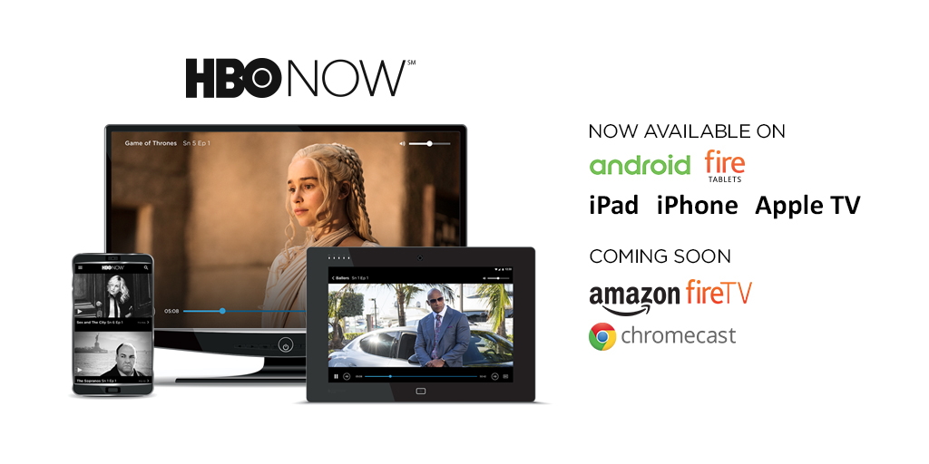 HBO Now is finally hitting Android and Fire OS devices