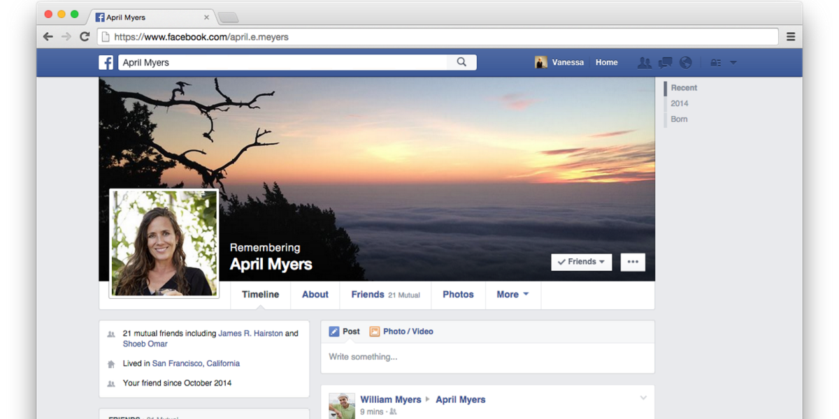 Facebook users in Europe can now assign someone to manage their account when they die