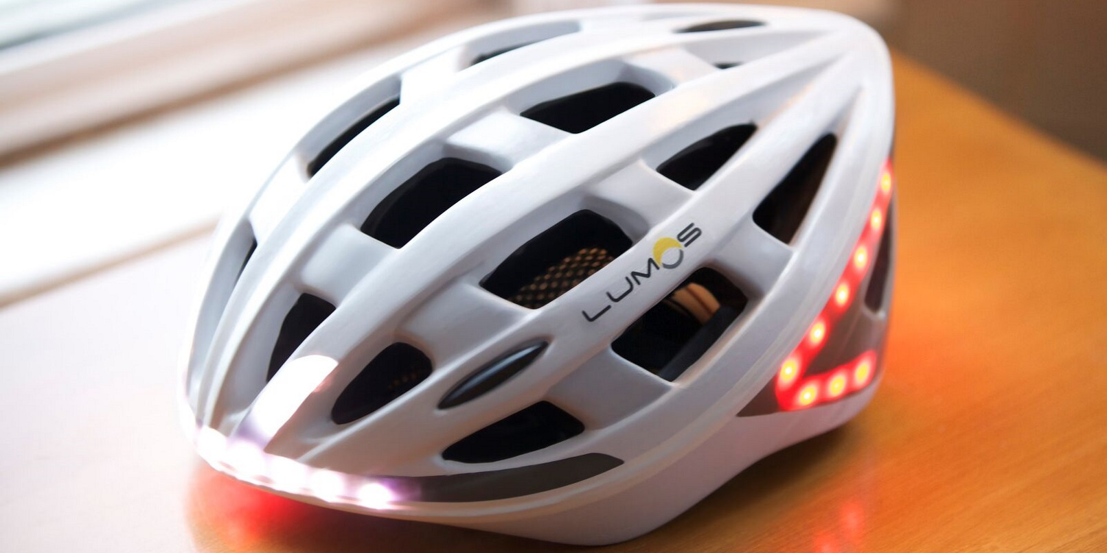 Your New Bike Helmet Could Have Built In Safety Lights And