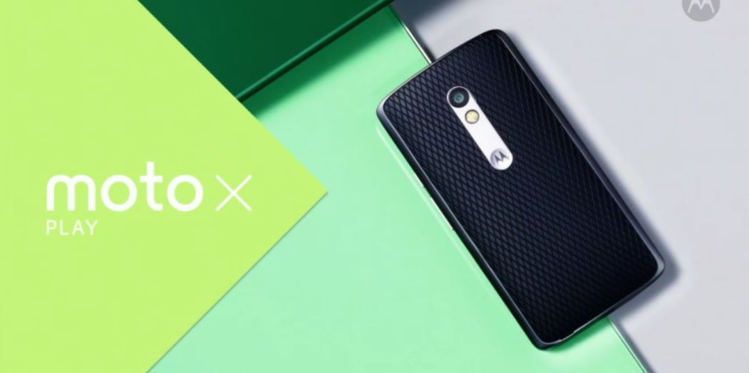 Motorola announces the Moto X Play, a cheaper Moto X with a larger battery