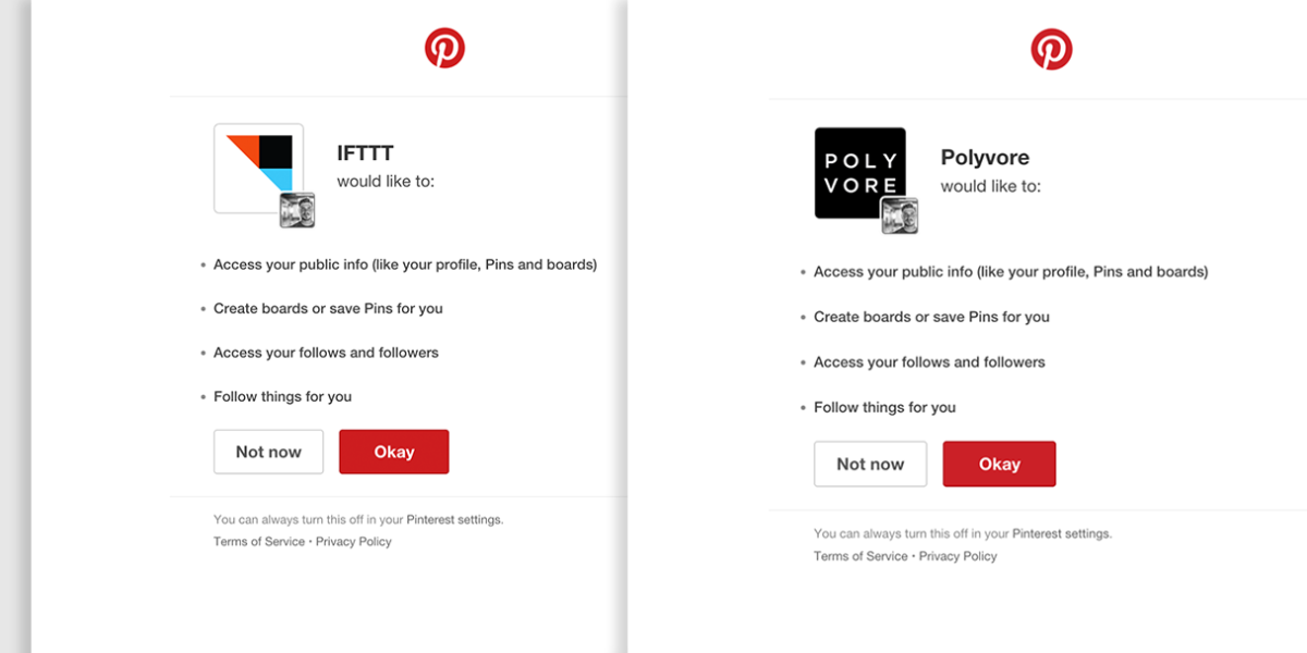 Pinterest announces new integrations with IFTTT and Polyvore