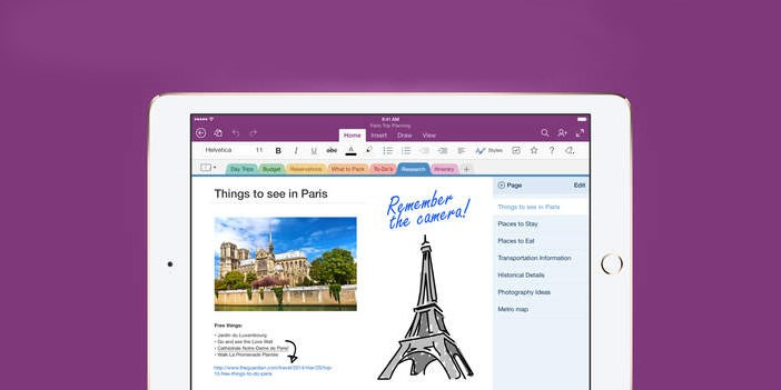 Microsoft's OneNote for iOS update merges iPhone and iPad apps