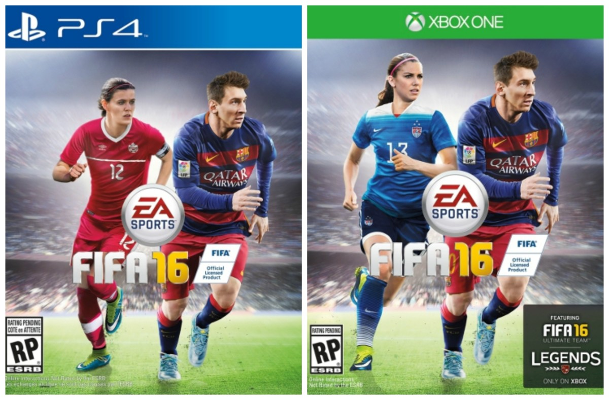 FIFA 16 acknowledging women exist isn't something to applaud